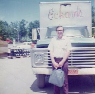 One of the first Eckard's Home Improvement Trucks