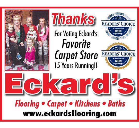Best Carpet Store in St. Joseph Missouri 15 Years in a Row! image