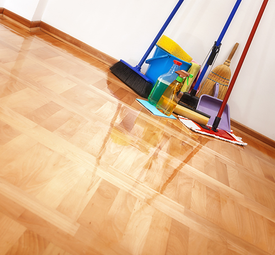 How To Care for a Hardwood Floor in Savannah image