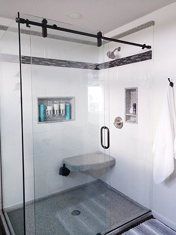 Barn Style Shower Door