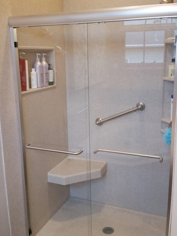 Bypass Slider Shower Door