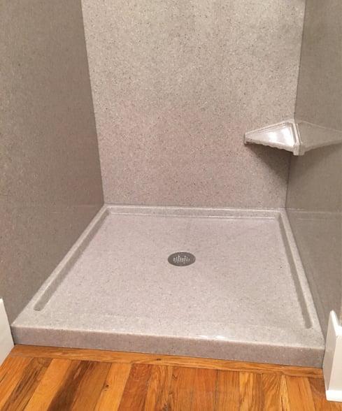 Custom Mid Height Shower
