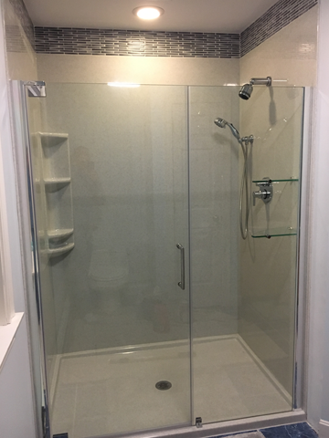 Fully Frameless Shower Door
