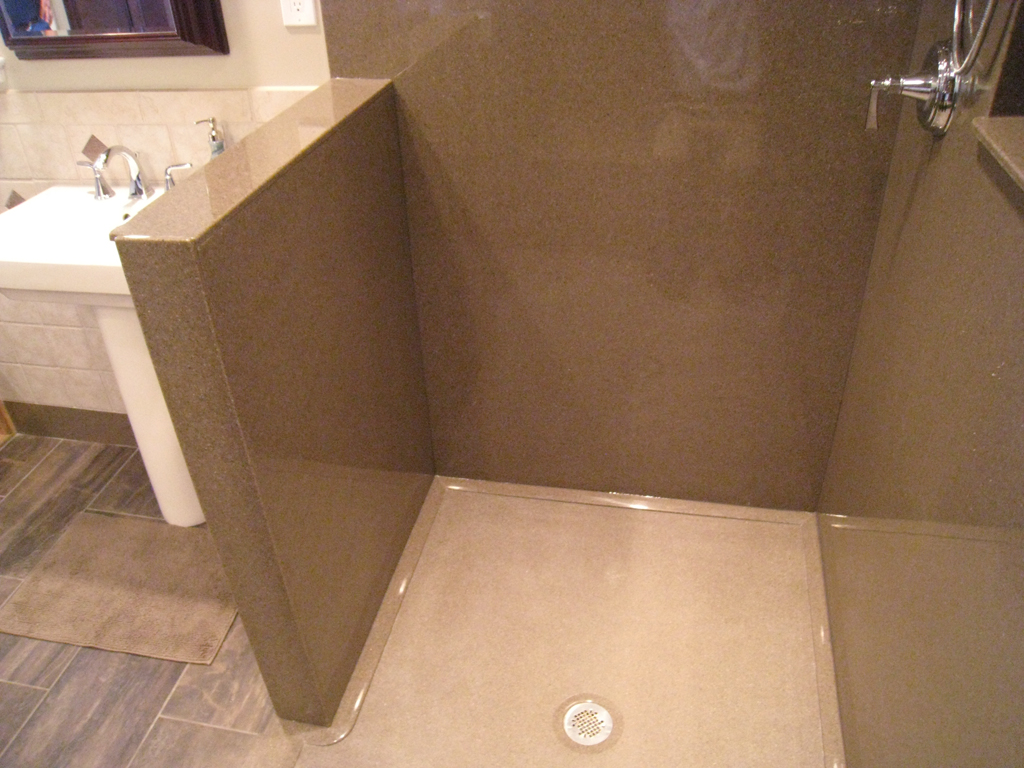 Gloss Finish Shower Tile