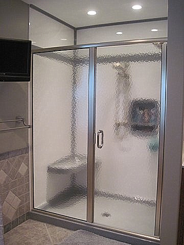 Single Hinged Shower Door
